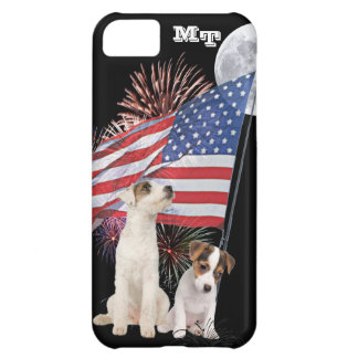 Jack Russell Awesome Patriotic Design iPhone 5C Cover