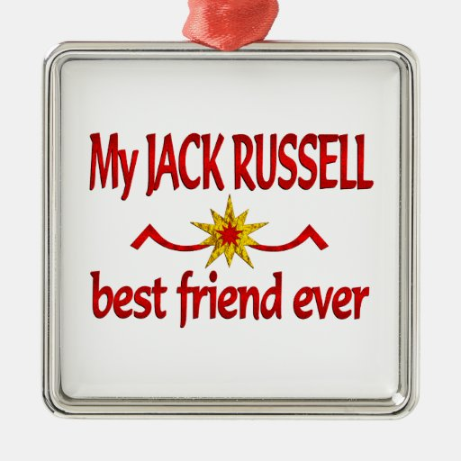 Jack Russell Best Friend Christmas Tree Ornament