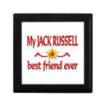 Jack Russell Best Friend Keepsake Box