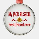 Jack Russell Best Friend Ornaments