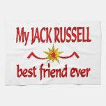 Jack Russell Best Friend Towel