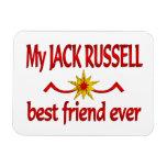 Jack Russell Best Friend Vinyl Magnets