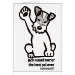 Jack Russell Best Pal Greeting Cards