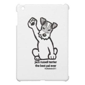 Jack Russell Best Pal iPad Mini Cover
