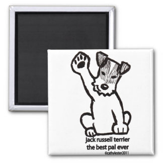 Jack Russell Best Pal Magnet