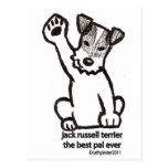 Jack Russell Best Pal Postcards