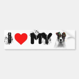 Jack Russell Bumper Sticker