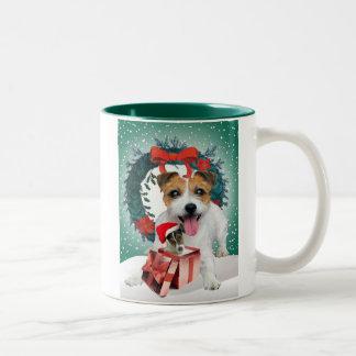 Jack Russell Christmas Gift Mug