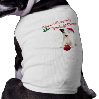 Jack Russell Christmas Wishes Shirt