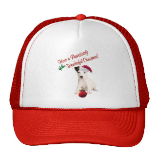 Jack Russell Christmas Wishes Trucker Hat