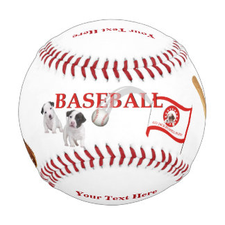 Jack Russell - Cute Play Ball Design - Baseball