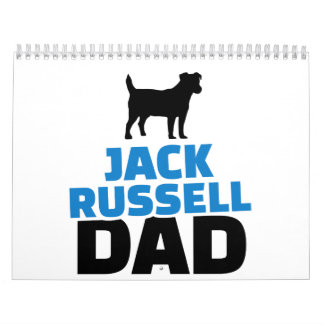 Jack Russell Dad Calendar