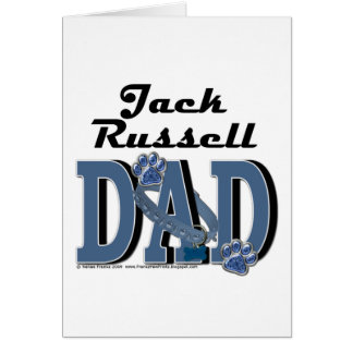 Jack Russell Dad Card