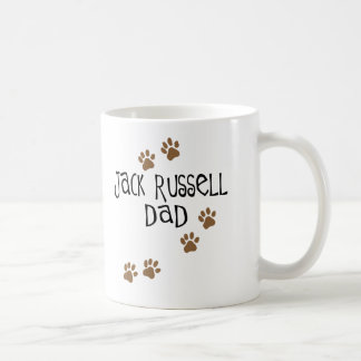 Jack Russell Dad Classic White Coffee Mug