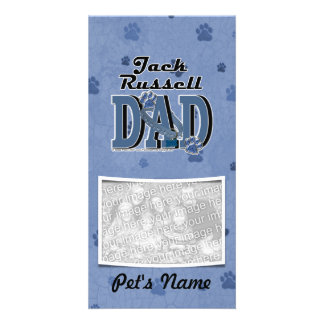 Jack Russell DAD Photo Cards