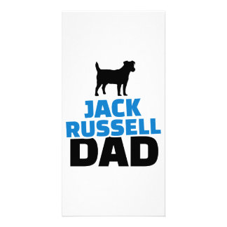 Jack Russell Dad Picture Card