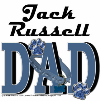 Jack Russell DAD Photo Cut Outs
