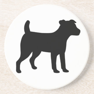 Jack Russell Dog Drink Coaster