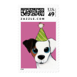 Jack Russell Dog Party Postage