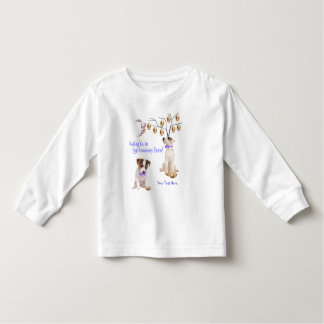 Jack Russell Eggs -Traordinary Easter Wishes Toddler T-shirt