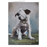 Jack Russell get well soon card