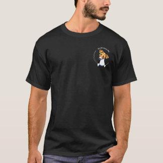 Jack Russell IAAM Off-Leash Art™ Pocket T-Shirt
