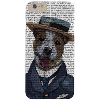 Jack Russell in Boater 2 Barely There iPhone 6 Plus Case