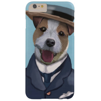 Jack Russell in Boater Barely There iPhone 6 Plus Case