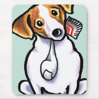 Jack Russell Lets Play Mouse Pad