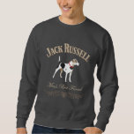 Jack Russell Man's Best Friend Pullover Sweatshirt