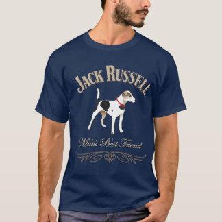 Jack Russell Man's Best Friend T-Shirt