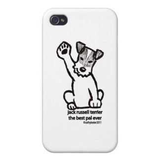 Jack Russell mejor PAL iPhone 4/4S Carcasas