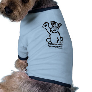 Jack Russell mejor PAL Camiseta Con Mangas Para Perro