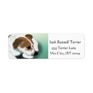 Jack Russell Mix Custom Return Address Label