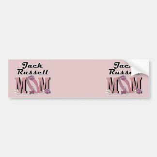 Jack Russell MOM Car Bumper Sticker