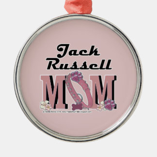 Jack Russell MOM Metal Ornament