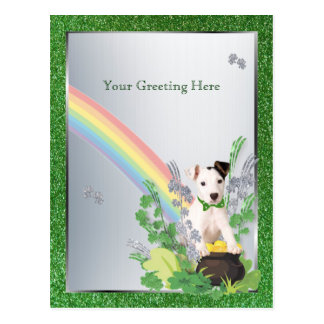 Jack Russell Orig Pup Customize It Small Version Postcard