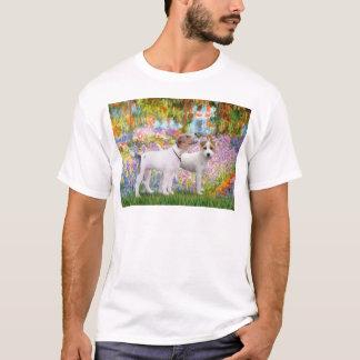 Jack Russell Pair - Garden T-Shirt