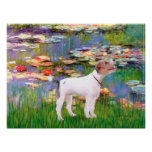 Jack Russell (Parsons Terrier)  - Lilies 2 Poster