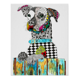 Jack Russell Poster (You can Customize)