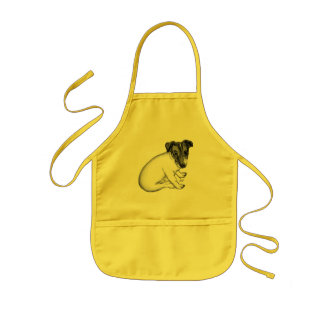 Jack Russell puppy 10 weeks old Kids' Apron