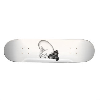 Jack Russell puppy 10 weeks old Skateboard Deck