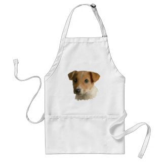 Jack Russell Puppy Adult Apron