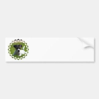 Jack Russell Puppy Bumper Sticker Car Bumper Sticker
