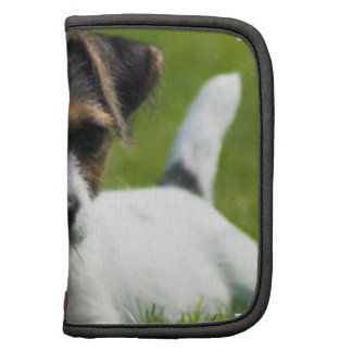 Jack Russell Puppy Folio Planners