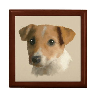 Jack Russell Puppy Gift Box
