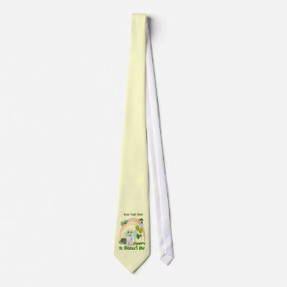 Jack Russell Puppy - Matches Irish Or Not Design Tie