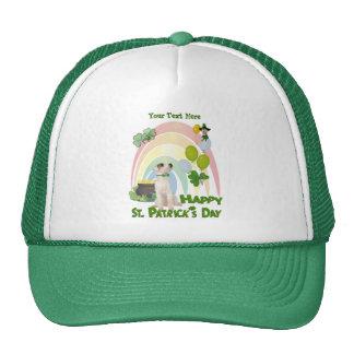 Jack Russell Puppy - Matches Irish Or Not Design Trucker Hat