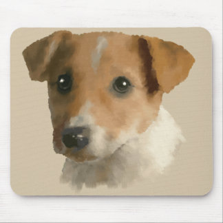 Jack Russell Puppy Mouse Pad