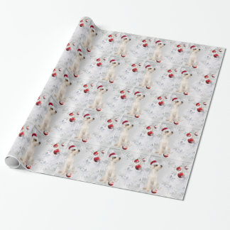 Jack Russell Puppy Number Four Christmas Gift Wrap